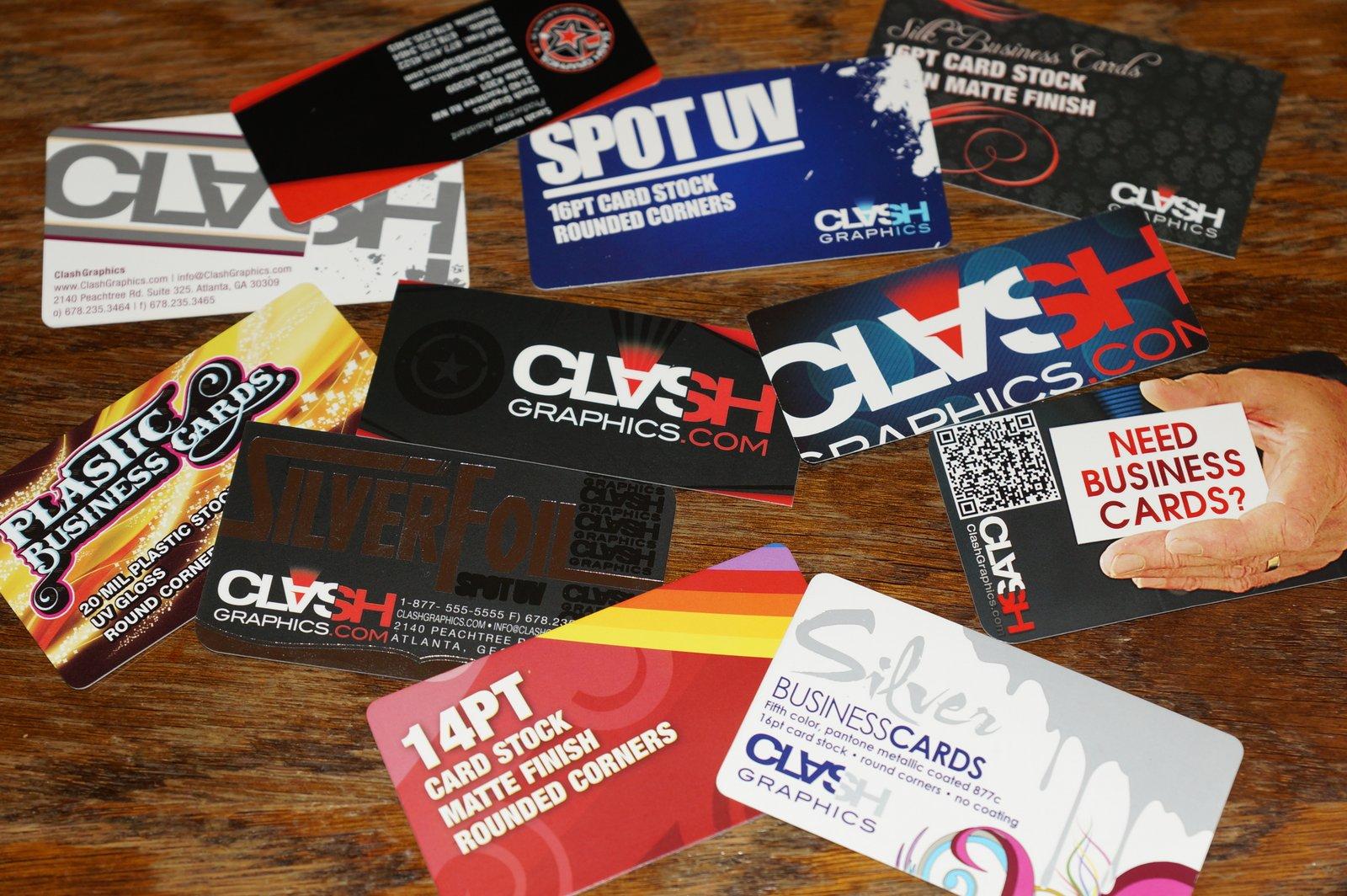 Clash Graphics Print Shop Atlanta Flyer Printing